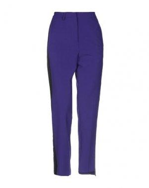 Повседневные брюки ATTIC AND BARN. Цвет: темно-фиолетовый