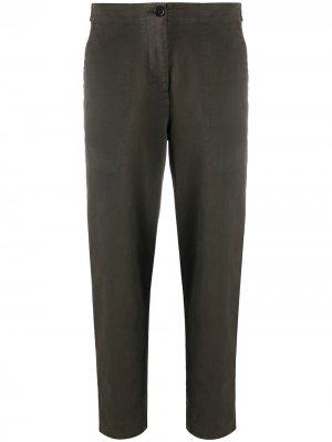 Зауженные брюки чинос Aspesi. Цвет: зеленый