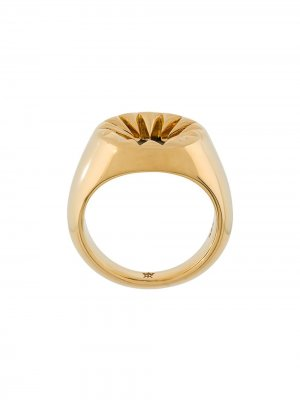 Перстень Kasun London. Цвет: золотистый