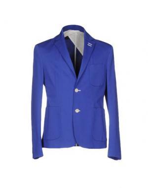 Пиджак SIMON PEET. Цвет: ярко-синий
