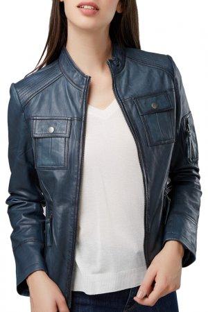 Jacket Isaco & Kawa. Цвет: blue