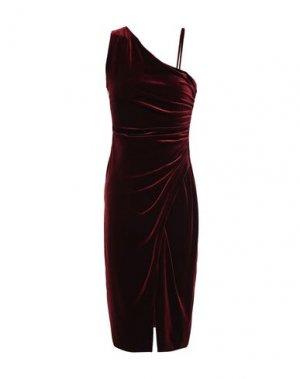 Платье до колена BLACK HALO. Цвет: красно-коричневый