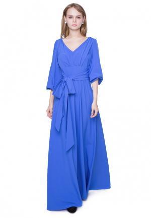 Платье Marichuell KAYVA. Цвет: синий