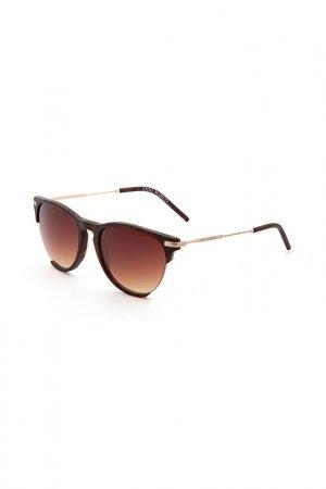 Очки солнцезащитные Enni Marco. Цвет: темно-коричневый