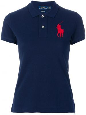 Big Pony polo shirt Ralph Lauren. Цвет: синий