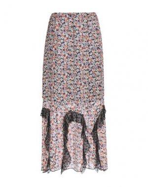 Длинная юбка ANNA SUI. Цвет: слоновая кость