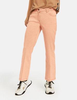Расклешенные джинсы с пятью карманами GERRY WEBER. Цвет: tannin