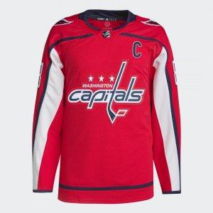Оригинальный хоккейный свитер Capitals Овечкин Performance adidas. Цвет: красный