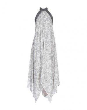 Короткое платье GARETH PUGH. Цвет: светло-серый