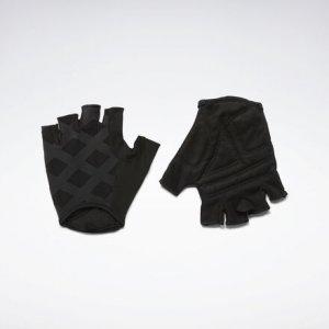 Перчатки Studio Reebok. Цвет: black