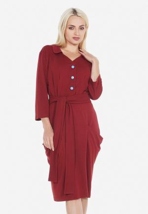 Платье Artwizard. Цвет: красный