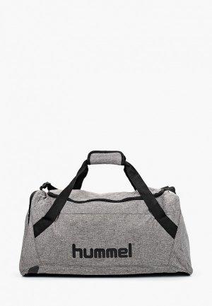 Сумка спортивная Hummel CORE SPORTS. Цвет: серый