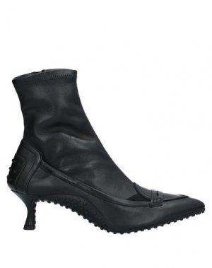 Полусапоги и высокие ботинки ALESSANDRO DELL'ACQUA x TOD'S. Цвет: черный