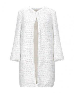 Легкое пальто VANESSA SCOTT. Цвет: белый