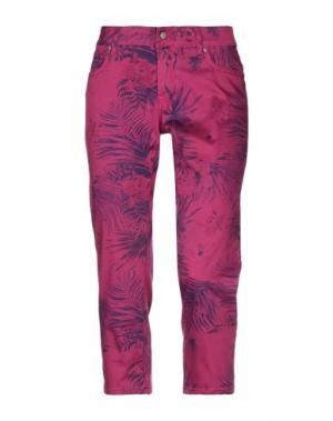 Брюки-капри ROŸ ROGER'S. Цвет: пурпурный