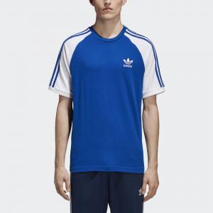 Футболка 3-Stripes Originals adidas. Цвет: none