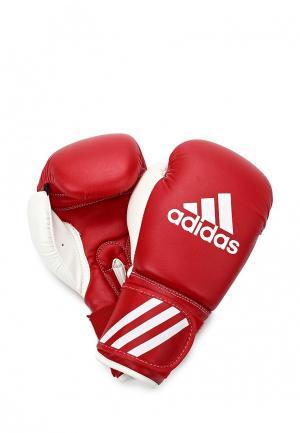 Перчатки боксерские adidas Combat Response. Цвет: красный