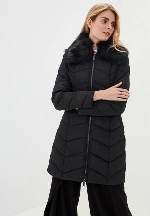 Куртка утепленная Gaudi. Цвет: черный