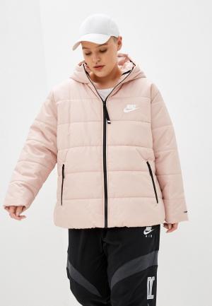Куртка утепленная Nike WNSW TF RPL CLASSIC HD PLUS. Цвет: бежевый