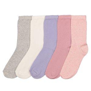 Комплект из пар носков La Redoute. Цвет: разноцветный