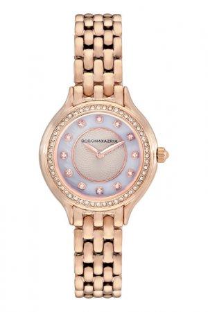 Наручные часы BCBG Max Azria. Цвет: золотой