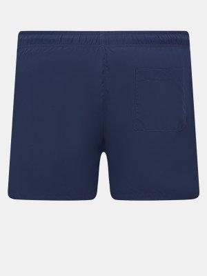 Плавательные шорты SABA HUGO. Цвет: siniy