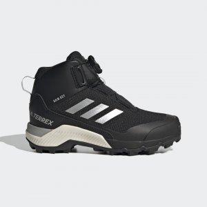 Высокие ботинки для хайкинга Terrex Winter Boa Performance adidas. Цвет: черный