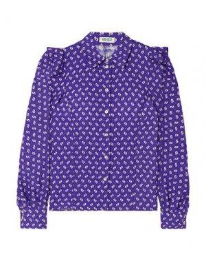 Pубашка KENZO. Цвет: фиолетовый