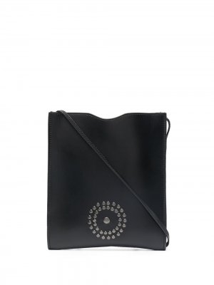 Сумка на плечо с логотипом 10 CORSO COMO. Цвет: черный