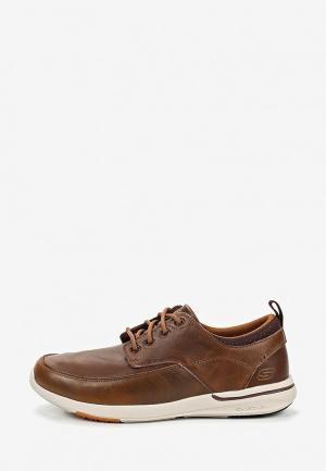 Кроссовки Skechers ELENT- LEVEN. Цвет: коричневый