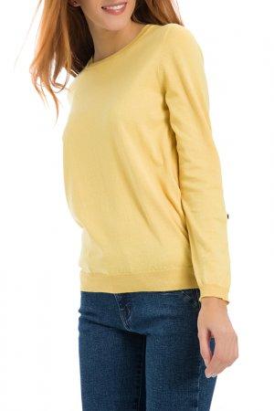Пуловер Galvanni. Цвет: желтый
