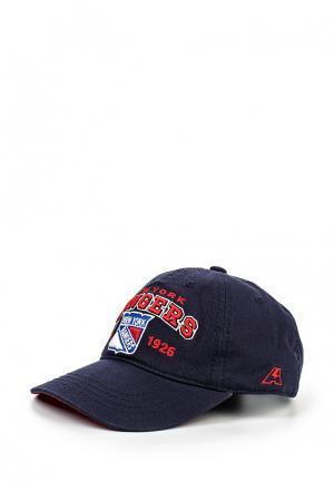 Бейсболка Atributika & Club™ NHL New York Rangers. Цвет: синий