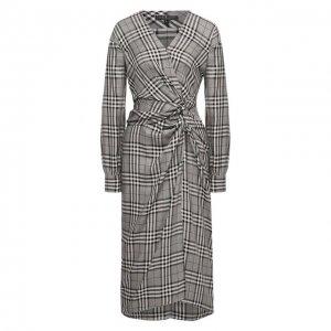 Платье из вискозы Rag&Bone. Цвет: чёрно-белый