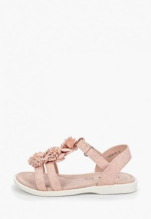 Босоножки T.Taccardi. Цвет: розовый