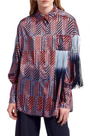 Рубашка Beatrice. B. Цвет: голубой, оранжевый