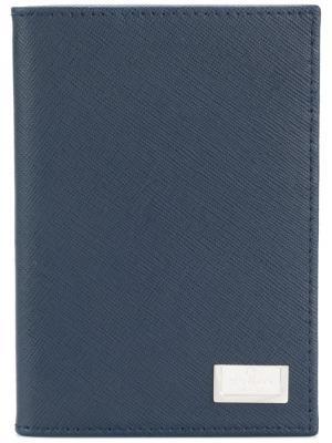 Классический кошелек Corneliani. Цвет: синий