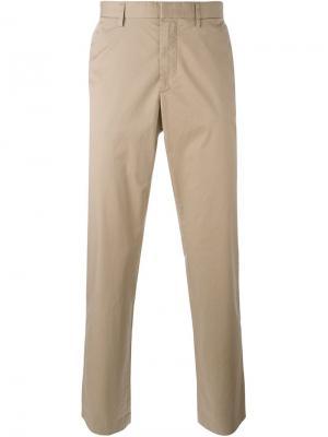 Классические брюки-чинос Michael Kors. Цвет: телесный