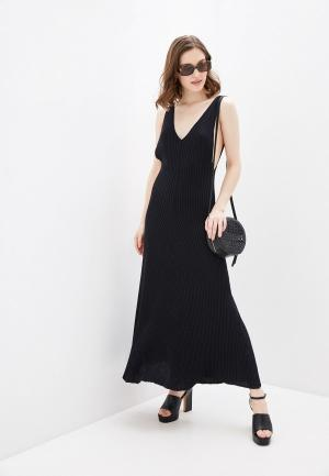 Платье Free People. Цвет: черный