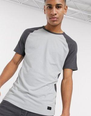 Серая футболка с круглым вырезом Athleisure-Серый Abercrombie & Fitch