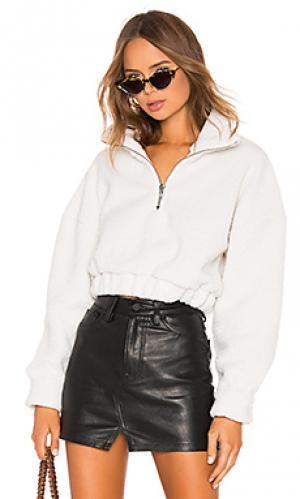 Куртка-пуловер quinn LPA. Цвет: белый
