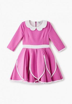 Платье Bonjour Bebe Fuchsia. Цвет: розовый
