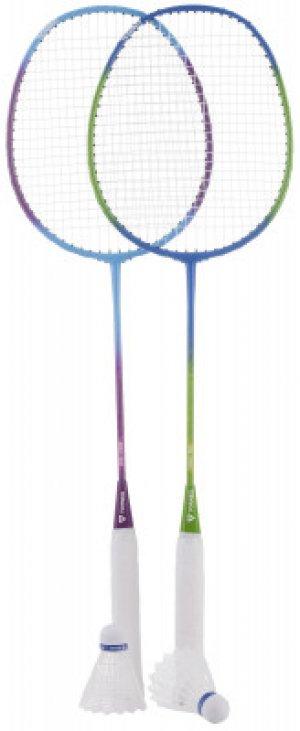 Набор для бадминтона (2 ракетки, 2 волана, чехол) Torneo. Цвет: синий