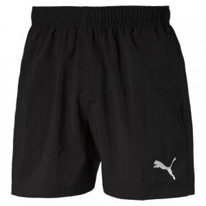 Шорты ESS Woven Shorts 5 PUMA. Цвет: черный
