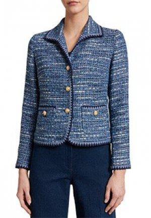 Пиджак LUISA SPAGNOLI. Цвет: синий