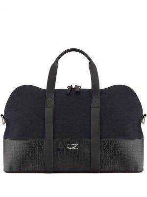 Дорожная сумка Lucky Giuseppe Zanotti. Цвет: черный