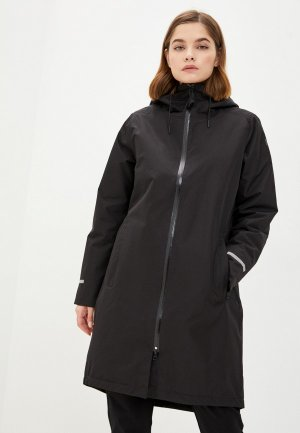 Плащ Helly Hansen W ASPIRE RAIN COAT. Цвет: черный