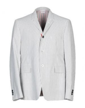 Пиджак THOM BROWNE. Цвет: серый