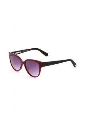 Очки солнцезащитные Enni Marco. Цвет: красный, коричнево-красный