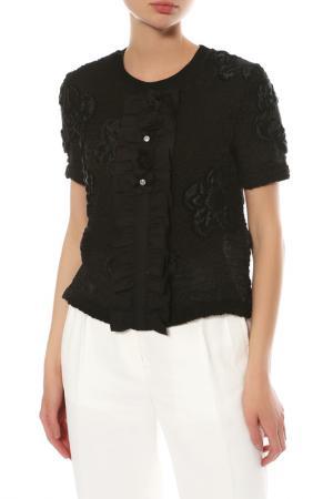 Блуза Fendi. Цвет: черный