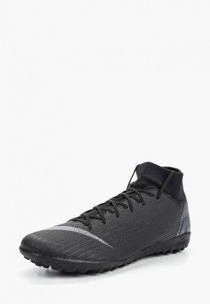 Шиповки Nike SuperflyX 6 Academy TF. Цвет: черный
